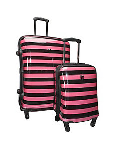 Kingston 4 Wheeled 2 Piece Luggage Set by IT Luggage