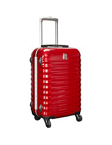 "Shiny Vigo 4 Wheeled Framed 19"" Carry On by IT Luggage"