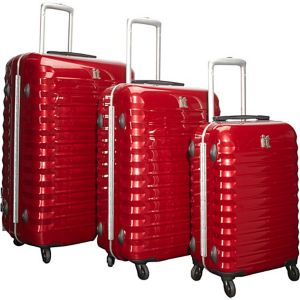 Shiny Vigo 4 Wheeled Framed 3 Piece Luggage Set