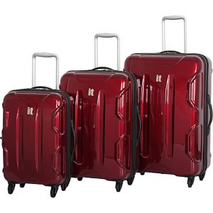 Shiny Victoria 3 Piece Luggage Set
