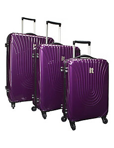 Shiny Andorra Ultra Lightweight 3 Piece Luggage Se by IT Luggage