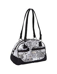 Elise Shoulder Bag, Salt & Pepper by Donna Sharp