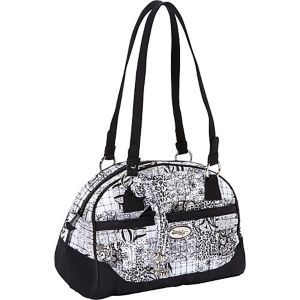 Elise Shoulder Bag, Salt & Pepper
