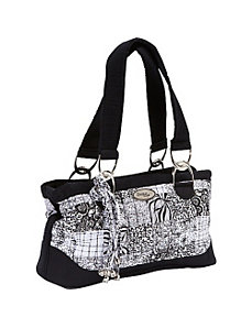 Reese Shoulder Bag, Salt & Pepper by Donna Sharp