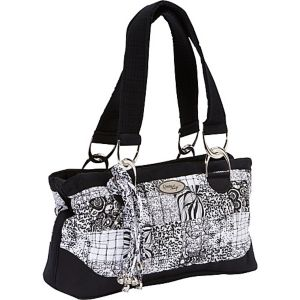 Reese Shoulder Bag, Salt & Pepper