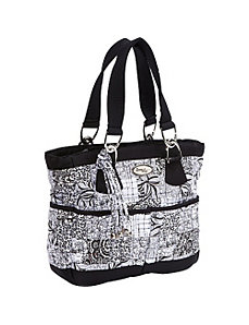 Elaina Bag, Salt & Pepper by Donna Sharp