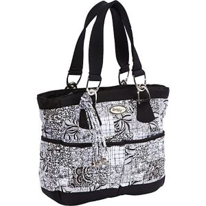 Elaina Bag, Salt & Pepper