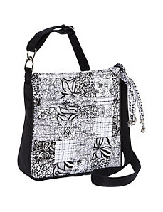 Hipster, Salt & Pepper Crossbody by Donna Sharp