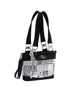 Jenna Shoulder Bag, Salt & Pepper by Donna Sharp