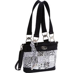 Jenna Shoulder Bag, Salt & Pepper