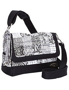 Pauline Bag, Salt & Pepper Crossbody by Donna Sharp