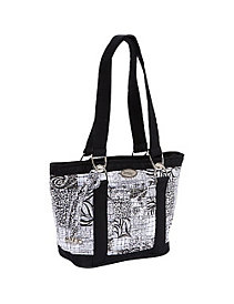 Leah Tote, Salt & Pepper by Donna Sharp