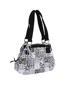 Cindy Shoulder Bag, Salt & Pepper by Donna Sharp