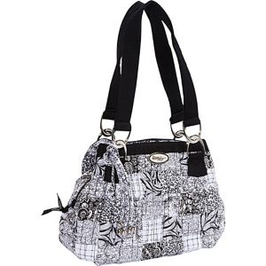 Cindy Shoulder Bag, Salt & Pepper