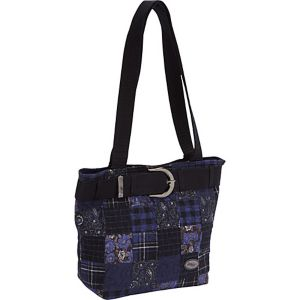 Medium Patched Tote, Hemingway