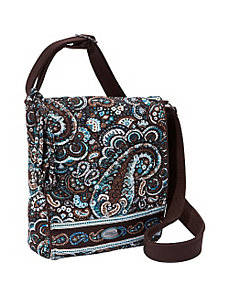 Messenger Bag, Glacier by Donna Sharp