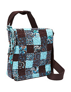 Messenger Bag, Glacier Patch by Donna Sharp