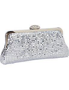 Metal Mesh Clutch by J. Furmani