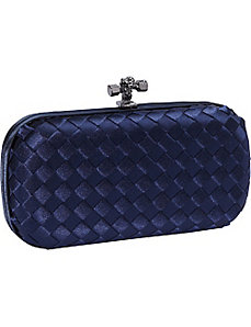Woven Satin Clutch by J. Furmani