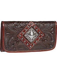 Triple C Tri-Fold Wallet by American West