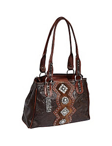 Triple C Multi-Compartment Tote by American West
