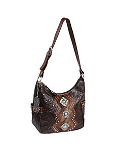 Triple C Zip-Top Everyday Hobo by American West
