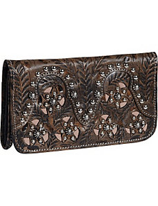 Tumbleweed Tri-Fold Wallet by American West