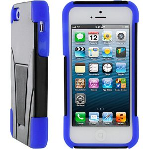 T3 Hybrid Armor Case w/ Stand for iPhone 5