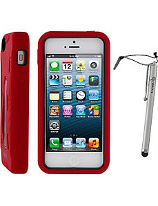 T1 Hybrid Armor Case w/ Stylus for iPhone 5 by rooCASE