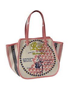 Mercado Tote Filipina Series by Rafe New York