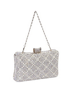 Hardcase Crystal Evening Bag by J. Furmani