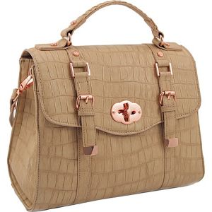 33rd & MAD. La Vie en Rose Square Satchel