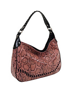 33rd & MAD. Python Print Hobo by Koret Handbags