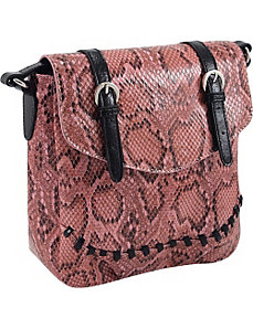 33rd & MAD. Python Print Crossbody by Koret Handbags