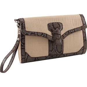 33rd & MAD. Linen Breeze 3-Way Convertible Clutch