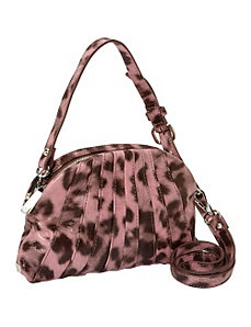 Layla Leopard Print Leather Crossbody by Kooba