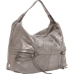 Crosby Metallic Drape Hobo