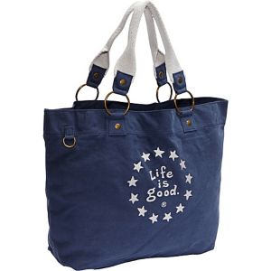 Latitude Tote LIG Stars, True Blue