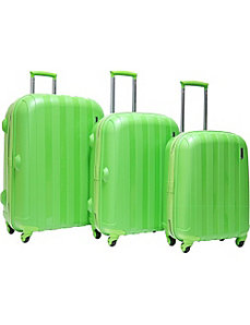Paradise 3 Piece Hardside Luggage Set by CalPak