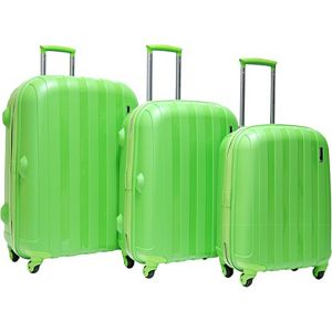 Paradise 3 Piece Hardside Luggage Set