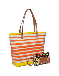 Can't Stop Shopper Large Tall Top Zip Tote by Nine West Handbags