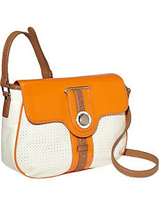 Sporting Life Perforated Medium Flap Crossbody by Nine West Handbags