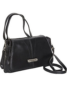 Small Leather Shoulder Bag by Travelon