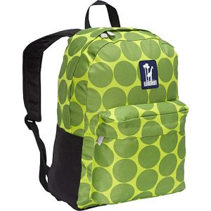 Big Dots Green Tag-Along Backpack