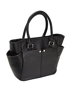 Polished Pockets French Tote by Tignanello