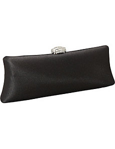 Long Satin Pillow Clutch by Magid