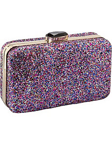 Glitter Box Clutch by Magid