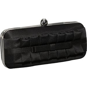 Pleated Ruffle Box Clutch