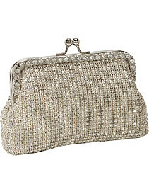 Crystal Frame Crystal Clutch by Magid