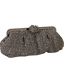 Crystal Frame Clutch by Magid